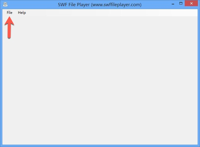 How to open SWF file using SWFfilePlayer