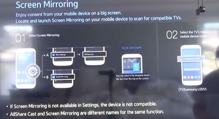Screen Mirroring Windows 10 to Samsung Smart TV