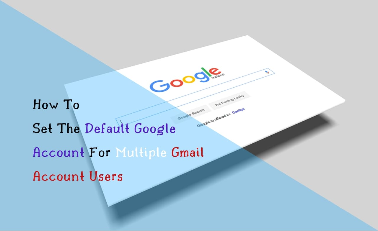 how to default a google account