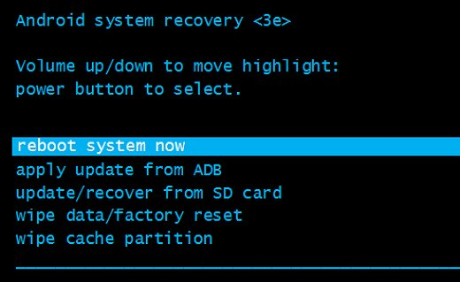 Fix No Command Error in Recovery Mode on Android device