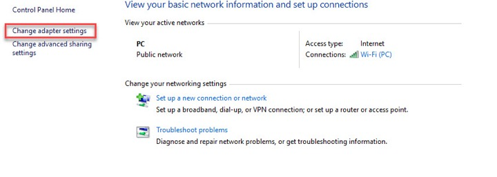 How to Disable or Enable WiFi adapter in Windows 10