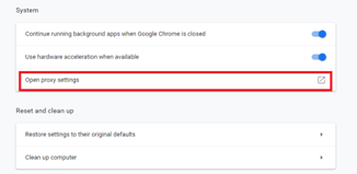 How to Use the Internet Options on Google Chrome