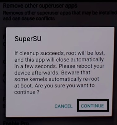 How to unroot Android