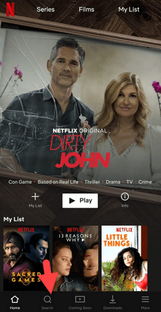 How To Search On Netflix