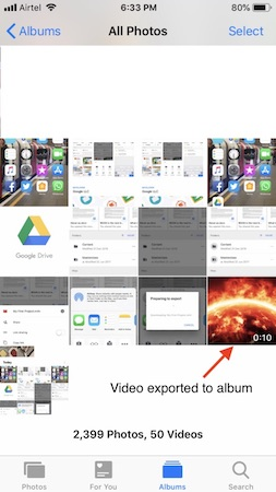 How to Save Google Drive Photos & Videos to Your iPhone Camera Roll