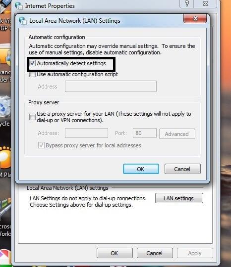 How to fix the error code 0x80072efd in Windows 10