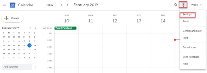 how to add outlook calendar to google calendar