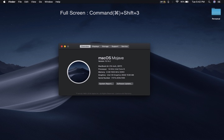 HOW TO ENABLE SCREENSHOT ON MACBOOK