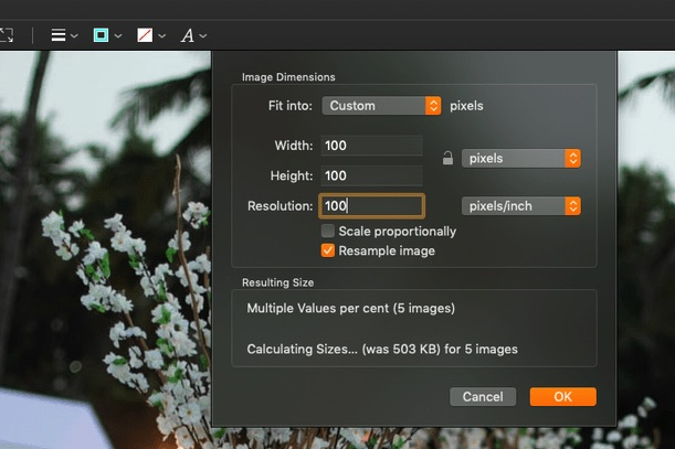 How to Resize Multiple Images at Once on Mac