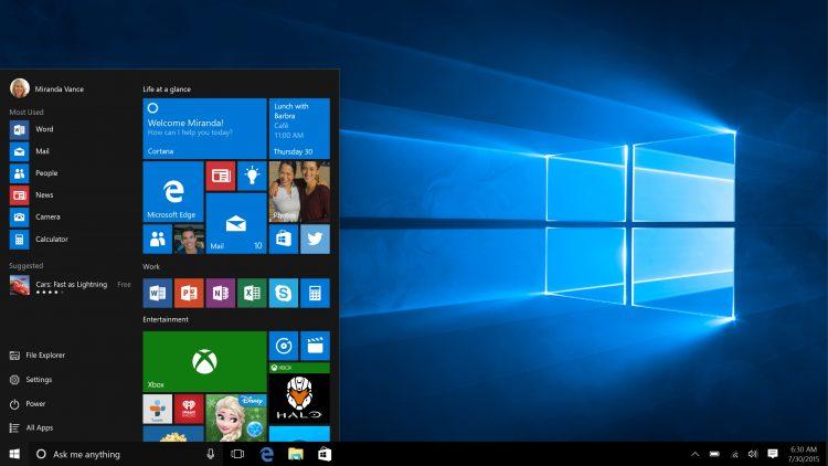 Free Upgrade Windows 10